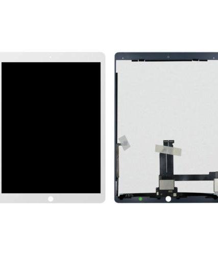 iPad Pro 12.9″ 1.gen Komplet Glas / LCD / Digitizer-hvid